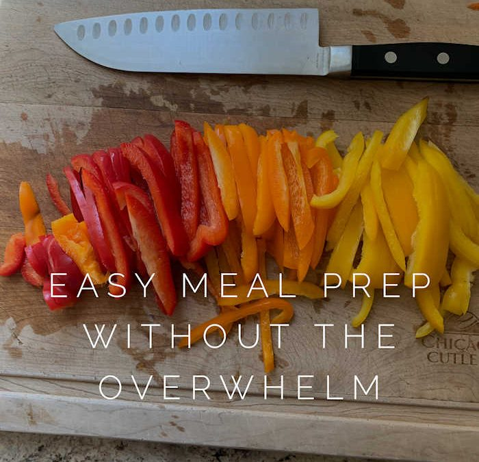 Healthy Meal Prep Strategies