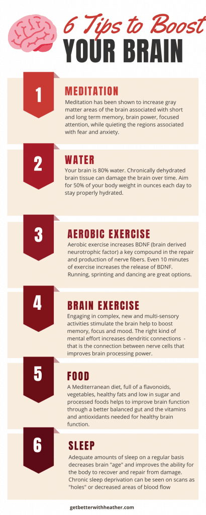 6 Tips To Boost Your Brain Power